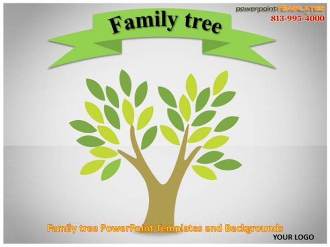 Family Tree Powerpoint Templates And Backgrounds Authorstream