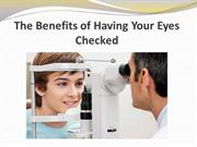 The Benefits of Having Your Eyes Checked