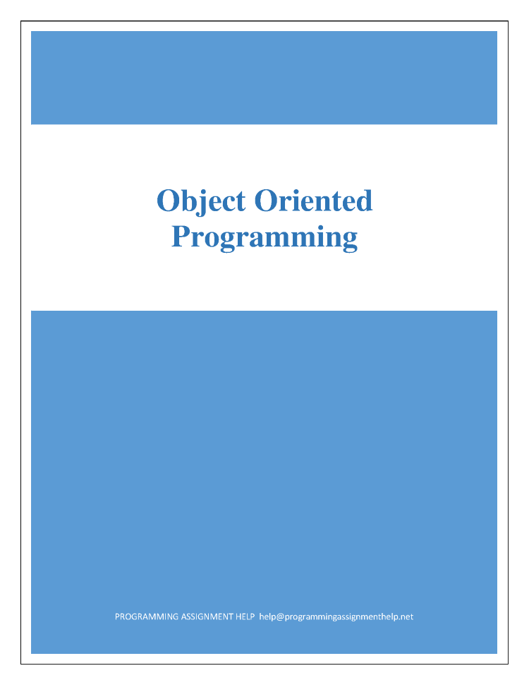 ObjectOriented Programming Concepts  BlackWasp