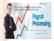 Payroll Processing and Outsourcing Services in India - Remunance.com