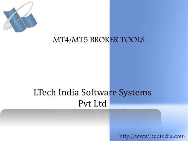 Broker Tools for MT4 or MT5 Platforms |authorSTREAM
