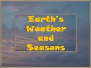 Earth's Weather and Seasons