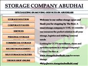 Abu Dhabi Movers, Abu Dhabi Moving Compa