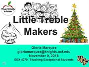 Little Treble Makers EEX 4070 TIA Presentation