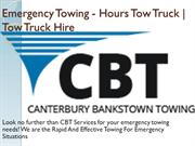 Emergency Towing - Hours Tow Truck  Tow Truck Hire