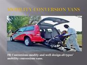 Wheelchair Accessible Vans for Sale - FrConversions
