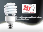 Top 5 Emergency Electricians from St Albans