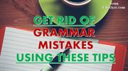 Avoid Grammar Mistakes