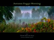 1-Nov 12-Autumn Foggy Morning-Those were the days-Giovanni Marradi pia