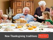 Ideas for New Thanksgiving Traditions