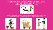 Send Flowers, Gifts and Cakes Online Across India At Affordable Prices