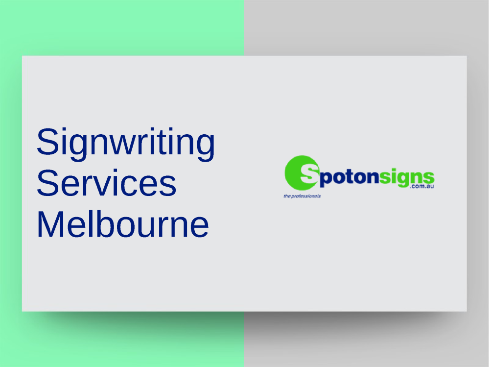 sign writing apprenticeship melbourne