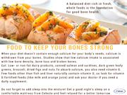 Food to keep your bones strong (1)