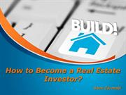 Sam Zormati – How to Become a Real Estate Investor?