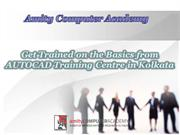 Get Trained on the Basics from AUTOCAD Training Centre in Kolkata
