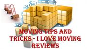 Moving Tips and Tricks - i love moving reviews