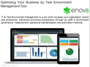 Optimize Your Business With Test Environment Management Tool