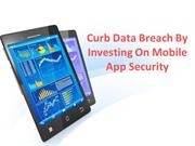 Curb Data Breach by Investing on Mobile App Security
