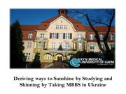 How KMU has maintained a good reputation in Ukraine