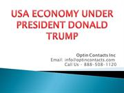 US ECONOMY UNDER PRESIDENT DONALD TRUMP