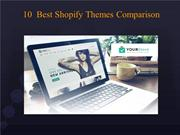 Comparison of 10 Shopify Website Themes