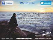 Inspirational Travel Quotes by Isabelle Eberhardt - Quotes On Travel