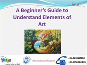 A Beginner's Guide to Understand Elements of Art