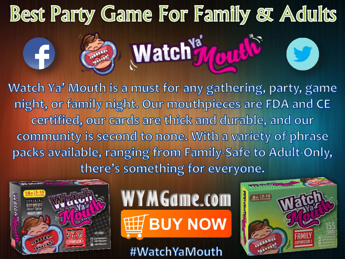 best party game for family adults watch ya mouth authorstream. Black Bedroom Furniture Sets. Home Design Ideas