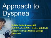 L 5.APPROACH TO DYSPNEA