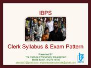 ibps Exam (Essential Information)