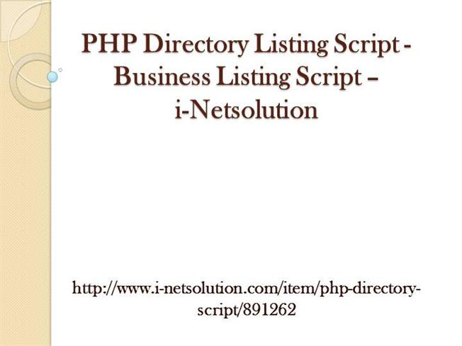 phpdirectory
