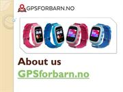 About us GPSforbarn.no