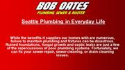 Sewer, Rooter & Plumbing Services in Seattle, WA