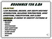 Resource TEK 2.8A
