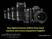 Buy Digital Cameras Online from Used Cameras and Lenses