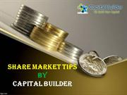 Share Market Tips - Stock Market Tips - Capital Builder