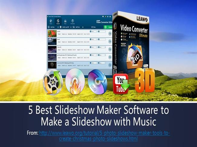5 best slideshow maker software to make a slideshow with music authorstream