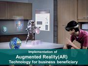 Implementation of Augmented Reality(AR) Technology for business benefi