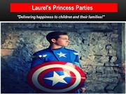 Childrens princess party