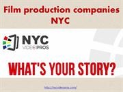 film production companies NYC