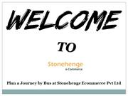 Plan a journey by bus at Stonehenge Ecommerce Pvt Ltd
