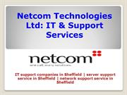 Hire IT Support Company in Sheffield