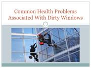 Common Health Problems Associated With Dirty Windows
