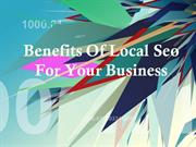 Benefits Of Local Seo For Your Business