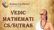 Vedic Mathematics & Sutras- walnutexcellence