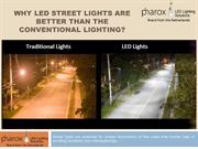 LED Street Lights in India