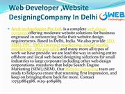 Web Developer ,web page design In Delhi (1)