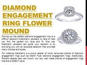 Diamond Engagement Ring Flower Mound