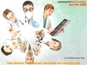 Best Medical Professional Templates and Backgrounds