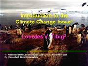 climate change issue